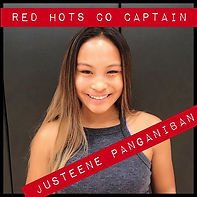 Meet The Dancers!__Red Hot Co-Captain Ju