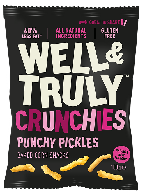 Punchy Pickles 100g