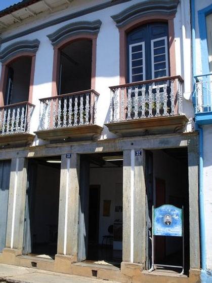 Casa de Alphonsus de Guimaraens-Mariana-COMPAT
