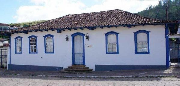 Casa dos Secretários do Governo da Capitania-Mariana-COMPAT