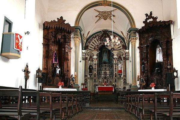 Igreja da Arquiconfraria do Cordão de S.Francisco-Mariana-COMPAT