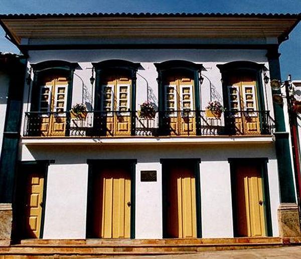 Antiga Casa de Fundição-Atual Casa da Cultura-Mariana-COMPAT