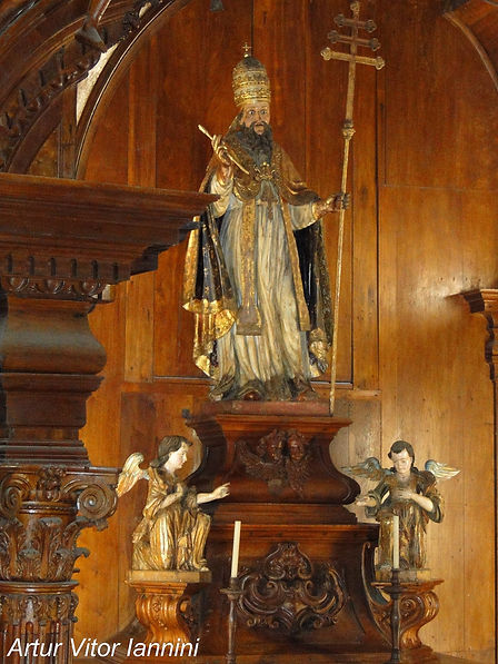 Igreja de São Pedro dos Clérigos-Mariana-COMPAT