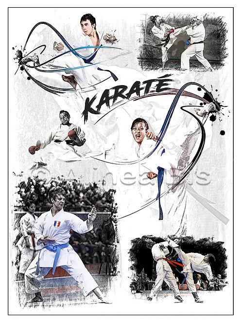 Affiche Karaté