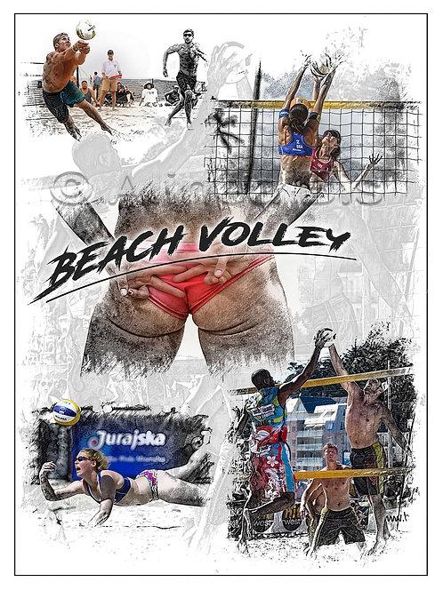 Affiche Beach Volley