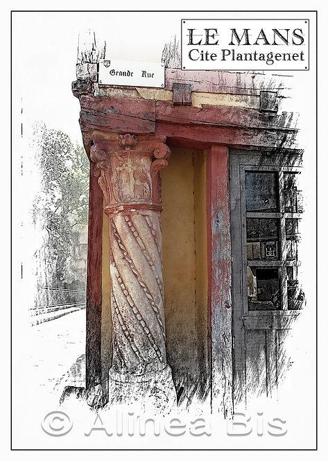 Le pilier rouge