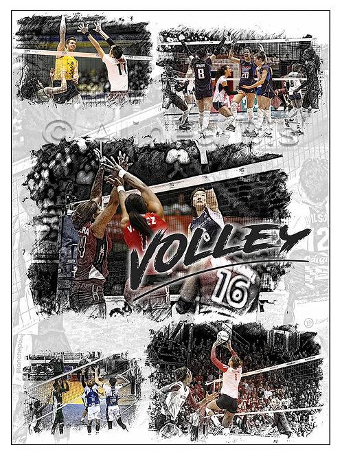 Affiche Volley