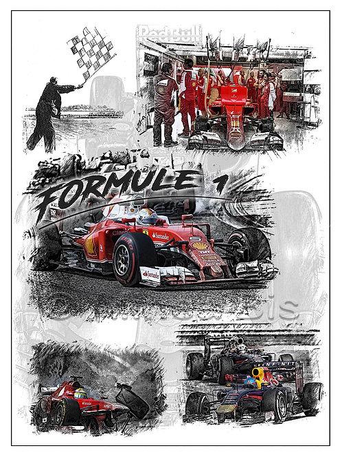 Affiche Formule 1