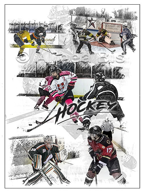 Affiche Hockey sur Glace