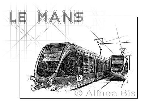 Le Mans le Tramway