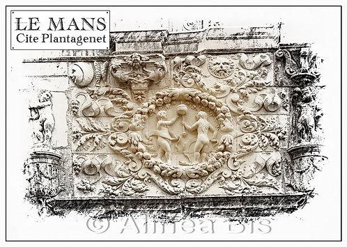 Maison d'Adam et Eve, détail
