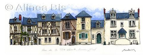 Rue de la porte Saint-Anne sud