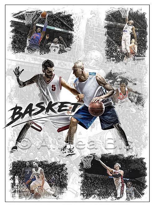 Affiche Basketball