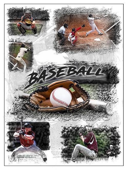 Affiche Baseball