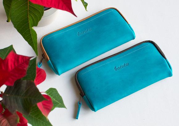 Bezedné peněženky / nebesky modré
