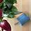 Thumbnail: menší Bezedná peněženka / blankytná + pampeliška