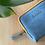 Thumbnail: Bezedná peněženka / blankytná modrá