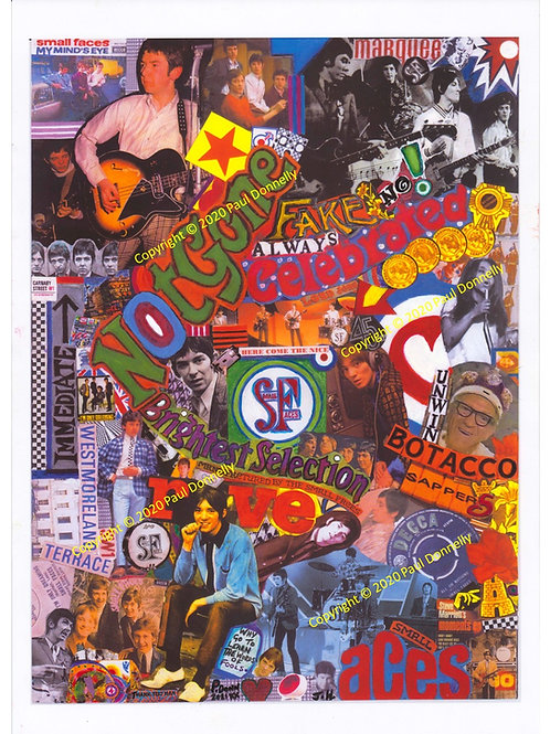 The Small Faces Collage