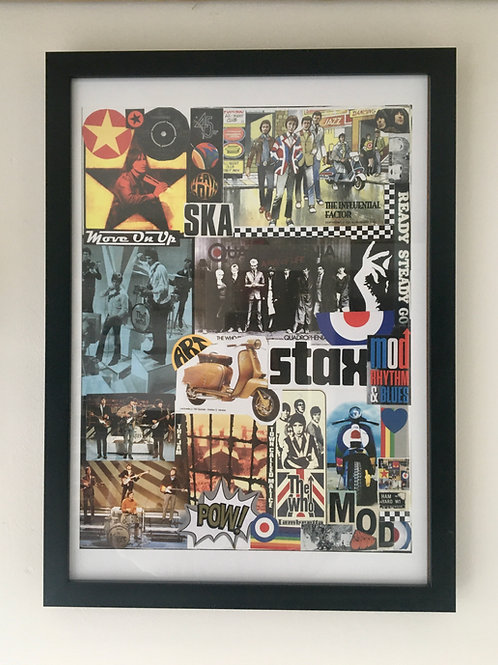 The 'Stax' Collage Print