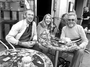 Soho, Bar Italia and John Hellier...