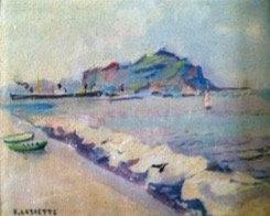Beach in Normandie 1886-1971