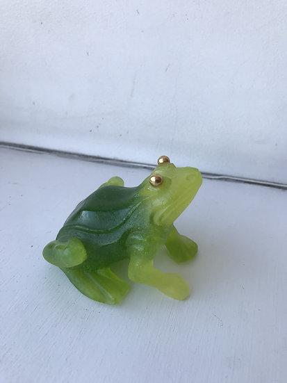 Daum Crystal - Frog