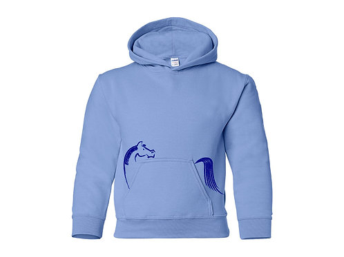 In Your Pocket Youth Sweatshirt: Blue