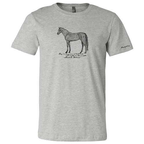 Horses According to Holmes (Unisex) - MSRP $27