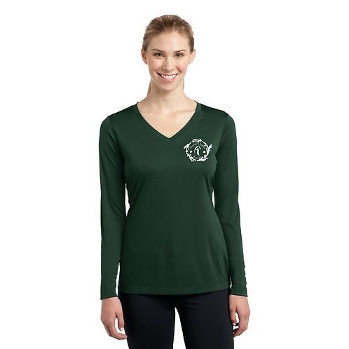 Twiggy Performance Longsleeve: Evergreen