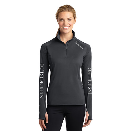 Inside Leg Outside Rein Baselayer: Charcoal