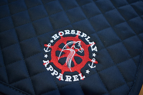 Nautical Saddle Pad