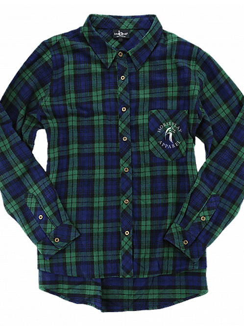 Horseplay Flannel!