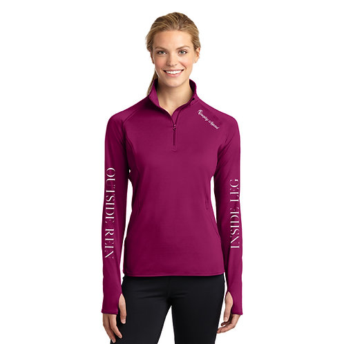 Inside Leg Outside Rein Baselayer: Boysenberry