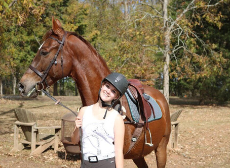 Ambassador Interviews: Izzy on the Switch from Saddle Seat to Eventing!