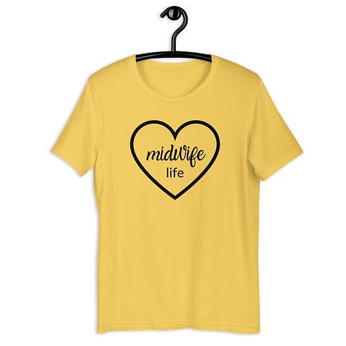Midwife Live - Short-Sleeve Unisex T-Shirt