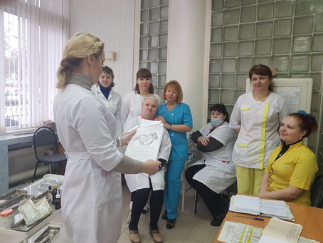 Всероссийская акция, посвященная Международному дню борьбы с раком 2019 год