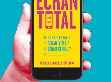 Animation et conférence - Ecran Total, Lausanne 2016