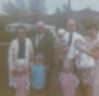 Pastor Hahm and Family (with Preszlers).