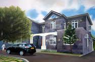 The Black Rock-House