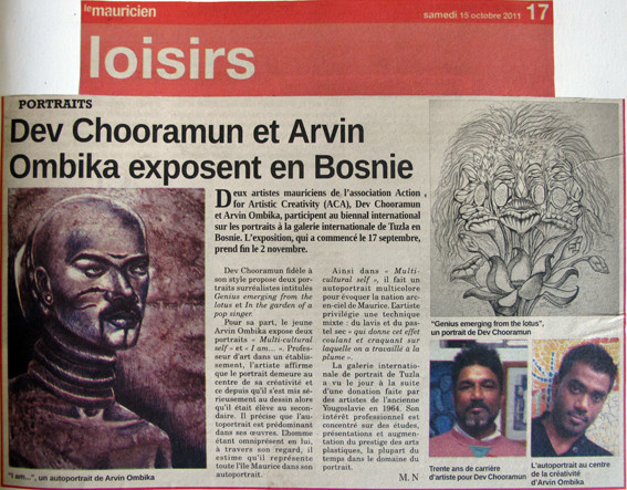 Interbifep, International Portrait Biennal, Tuzula, Bosnia & Herzegovina