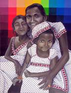 The Three Graces: Deepa, Riit & Kohana