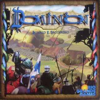 cover for the board game Dominion