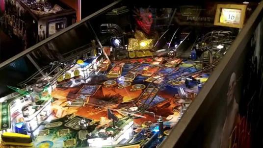 the hobbit pinball machine