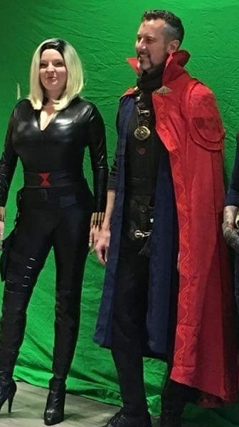 Dr. Strange marvel cosplay