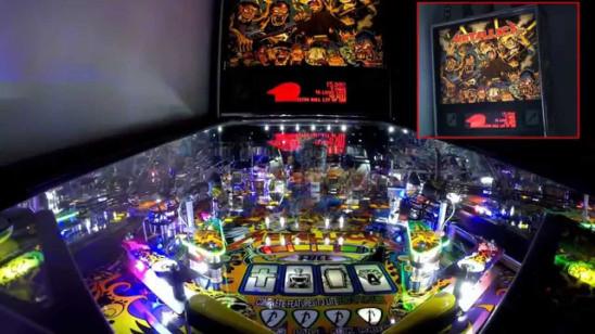 pinball machine for metallica