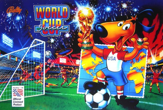 cover art for World Cup Soccer pinball game