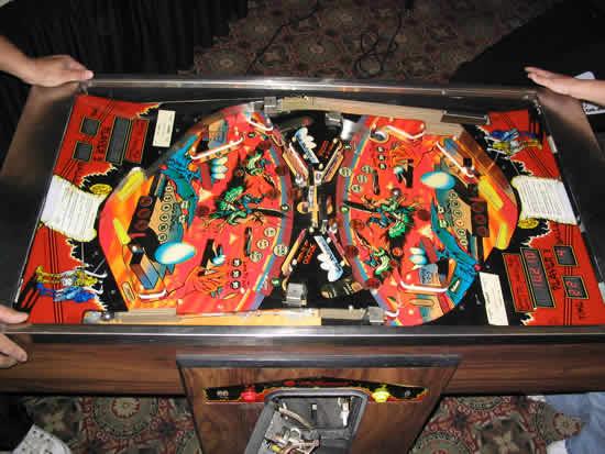 joust pinball machine