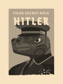 card from the social deduction game Secret Hitler