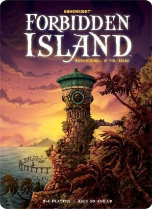cover of the board game Forbidden Island
