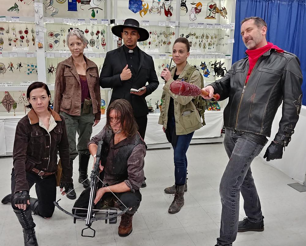 negan walking dead cosplay